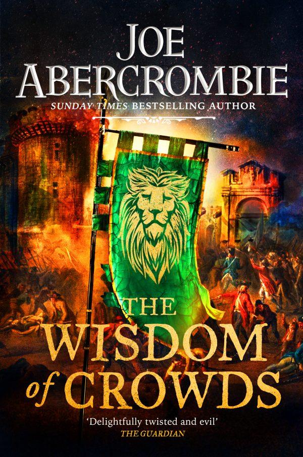 The Wisdom of Crowds UK Cover - Joe Abercrombie